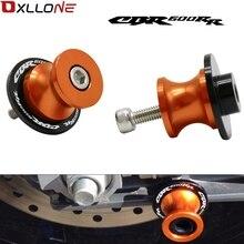 Motorcycle 8mm Swingarm Sliders Spools Stand Slider For Honda CBR600RR CBR 600 RR 2003 2011 2004   2011