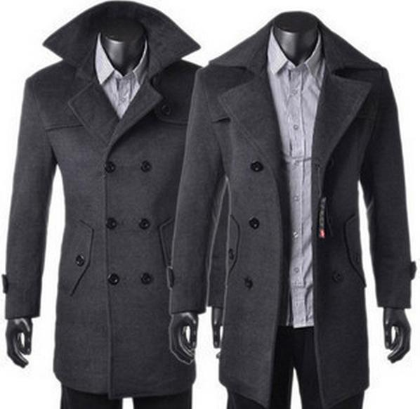 Popular Long Wool Coats Men-Buy Cheap Long Wool Coats Men lots