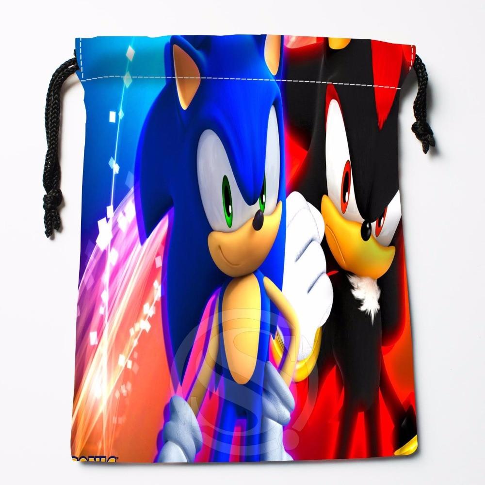 TF&23 New Sonic The Hedgehog #8 Custom Printed Receive Bag Bag Compression Type Drawstring Bags Size 18X22cm &81#23