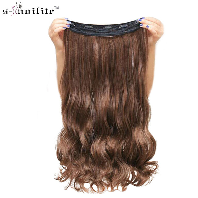 Snoilite 172427 Lady Synthetic Curly Long Clip In Hair