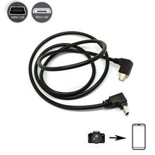Kamera telefonu OTG kablosu için canon kamera ve akıllı telefon tablet telefon micro usb ila 5pin mini usb