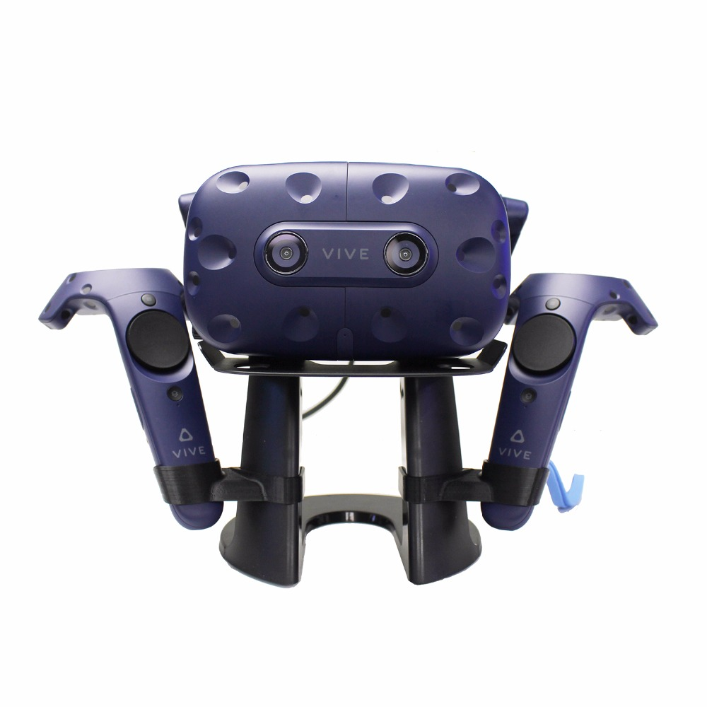 US $36 99 25% OFF|2018 Newest Virtual Reality 3D Glass Headset Display  Station Game Controller Holder For HTC Vive Headset or HTC Vive Pro  Headset-in