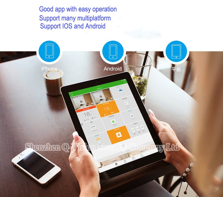 10-LifeSmart Home Security Automation Kit Wireless Remote Control WIFI HD 720P IP Camera Smart Center Station Combination System-