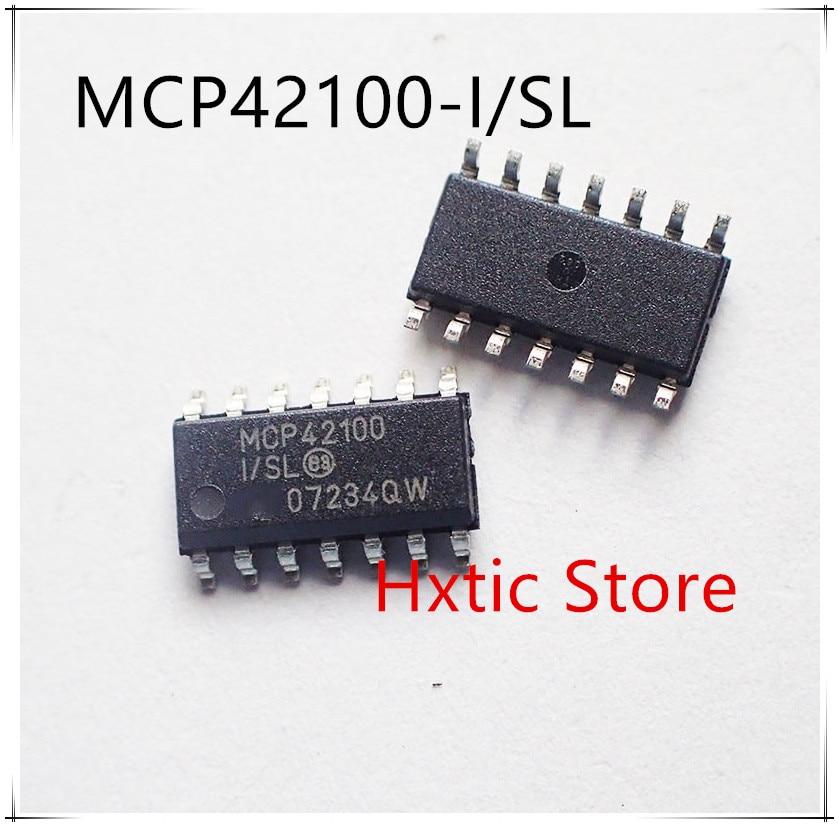 NEW 10PCS/LOT MCP42100-I/SL MCP42100-I SL MCP42100 SOP-14 IC
