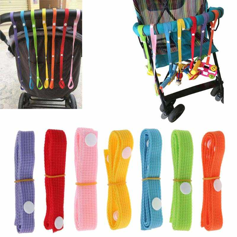 Teether Toys Fixed Anti-lost Chain Stroller Accessories Fixing Strap Bind Belt