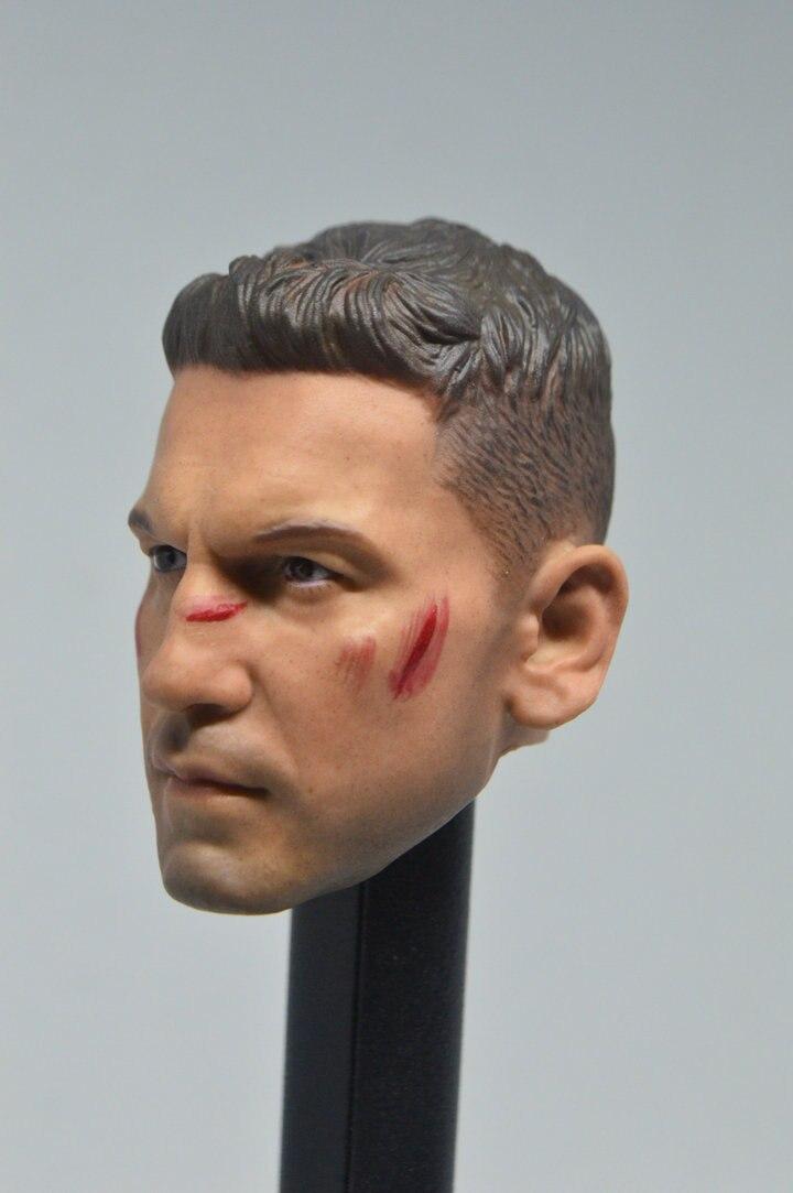 Custom 1//6 Scale BD Ver Jon Bernthal Punisher Frank Castle Head Sculpt