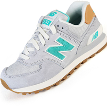 NEW BALANCE Top pig eight retro running shoes Women's ,Breathable WL574ESB outdo