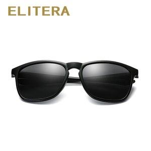 Image 3 - ELITERA מותג יוניסקס רטרו משקפי שמש מקוטב עדשת בציר משקפי שמש אביזרי משקפיים לגברים/נשים