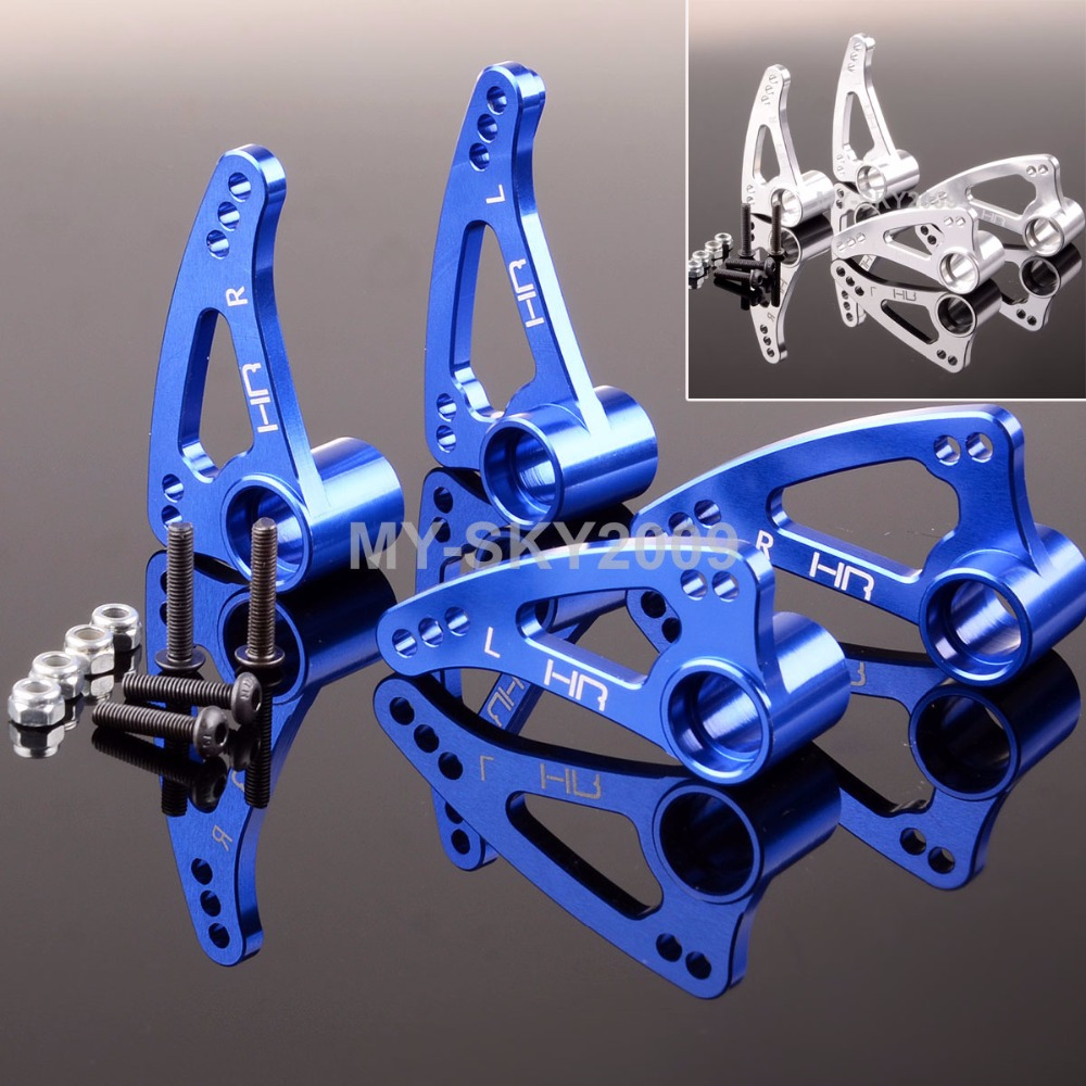 Front / Rear Aluminum Rocker arm set For 1/10 RC Model Off-Road Traxxas E-Revo Revo 3.3 Summit neo chrome rear lower control arm lca for honda civic 2001 2005 e2c