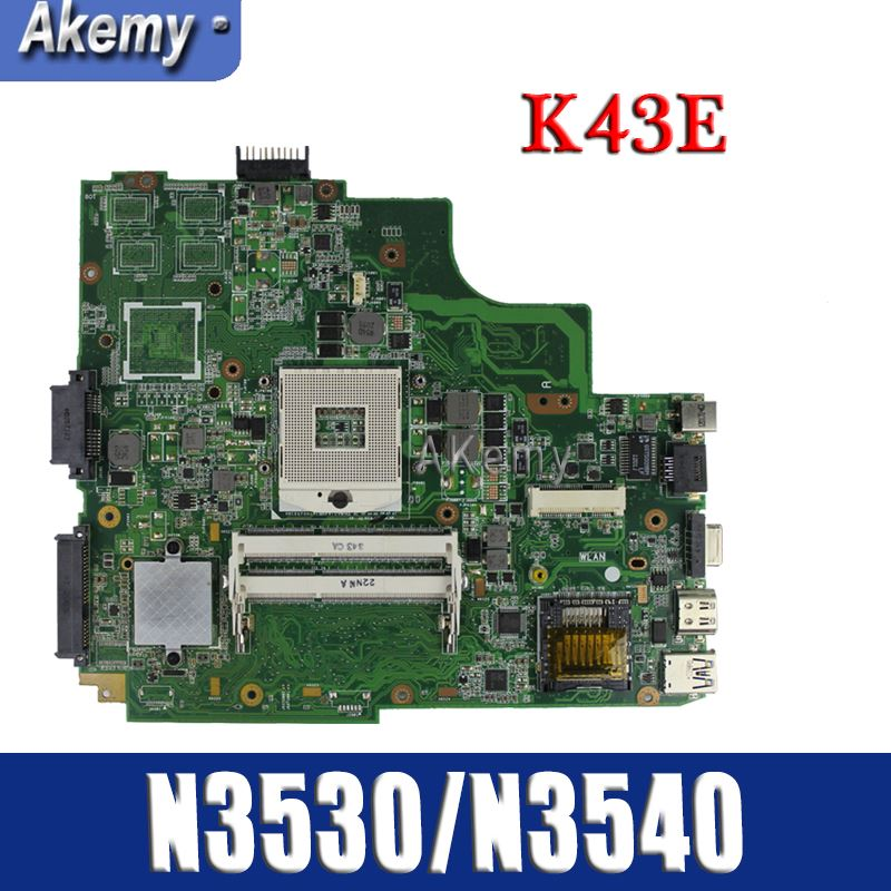 Amazoon  K43SD/K43E Laptop motherboard for ASUS K43E K43SD A43E P43E Test original mainboard HM65Amazoon  K43SD/K43E Laptop motherboard for ASUS K43E K43SD A43E P43E Test original mainboard HM65