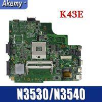 Amazoon k43sd/k43e placa-mãe do portátil para For Asus k43e k43sd a43e p43e teste original mainboard hm65