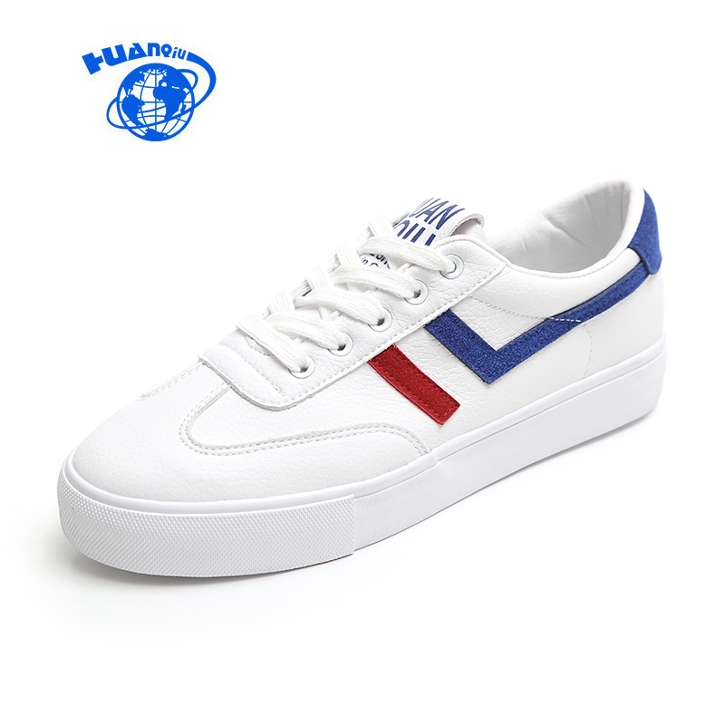 HUANQIU 2018 New Fashion Flat Heel Canvas Shoes Women Casual Shoes Zapatillas Deportivas Mujer Female White Sneakers 35-39 huanqiu white women vulcanize canvas shoes low breathable female solid color flat shoes casual candy colors leisure cloth shoes