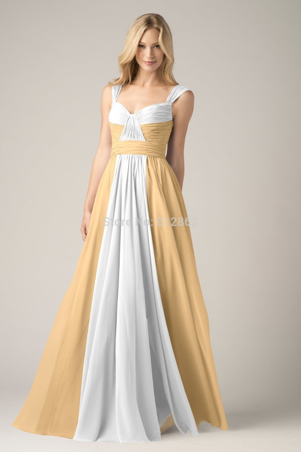 Online Get Cheap Elegant Gold and White Prom Dresses -Aliexpress ...