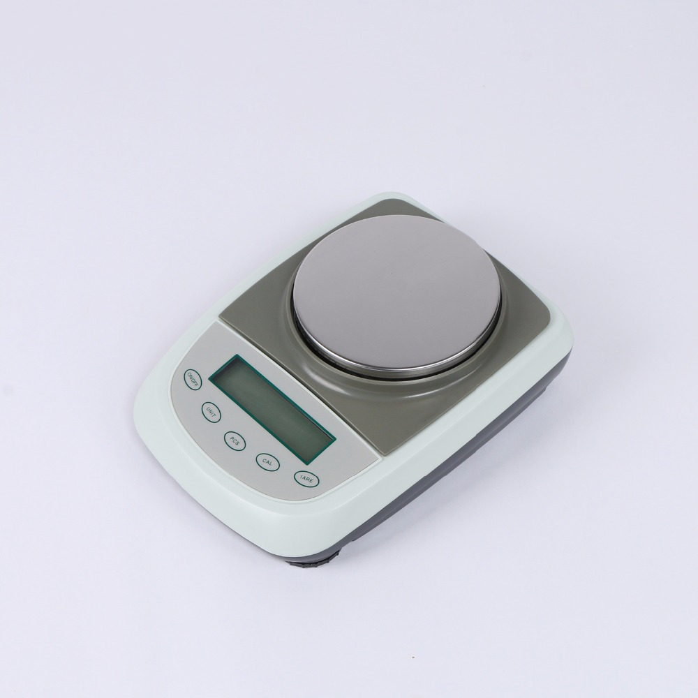 2000g x 0.1g Electronic Balance Scale LCD Battery Precision Weight 800g electronic balance measuring scale with different units counting balance and weight balance