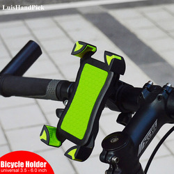 Bike Phone Holder Anti-skid 360 Rotating Bicycle Phone Stand Mount For iPhone 5 6 7 8 Plus X Xs Max XR Samsung S6 S7 S8 S9 Plus