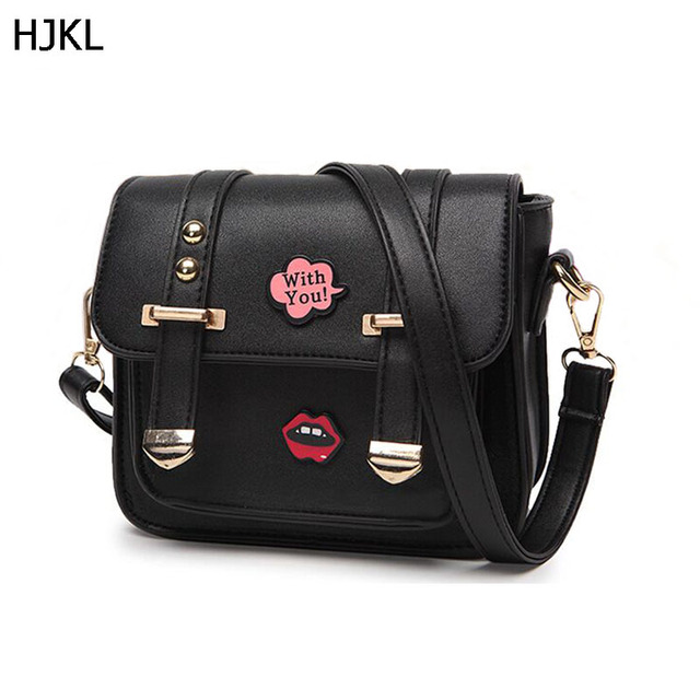 66919919768a 2018 Woman Bag Fashion Bolsas Femininas small Tote Letter Hip-Hop Bag Lady  Handbags Shoulder Messenger Bag Crossbody purse DK3F
