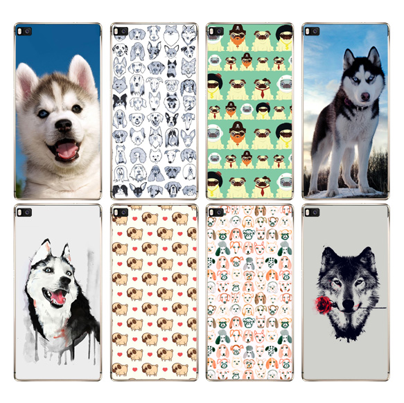 DREAMFOX K198 Sled Dogs Soft TPU Silicone Case Cover For Huawei P8 P9 P10 Lite Plus 2017 Honor 8 Lite Pro 9 6X