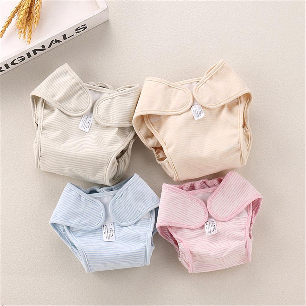 Kidlove Baby Color Cotton Natural Breathable Diaper Pants Cloth Diaper Washable Leak-proof Diapers