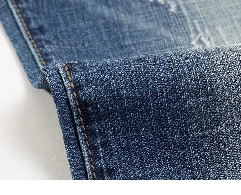 KSTUN Fashion Jeans for Men Slim Straight Blue Stretch Distressed Men's Clothes Trousers Yong Man Casual Pants Cowboys Jean Hombre 38 17