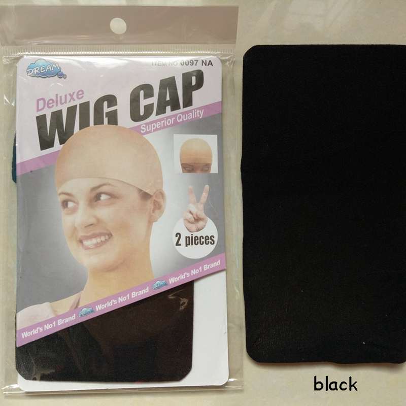 100pcs/lot Clearance Quality New Deluxe Wig Cap Hair Net For Weave Hair Wig Nets Stretch Mesh Wig Cap For Making Wigs