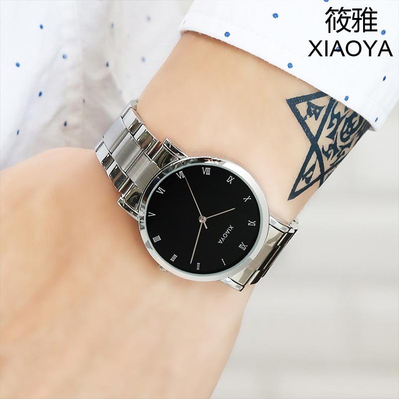 Relojes Hombre XIAOYA Brand Luxury Men Watches Women Men Business Quartz Watch  Waterproof Clock Relogio Masculino Montre Homme