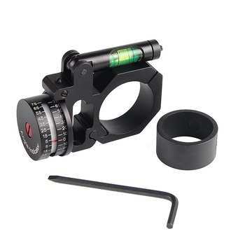 Scope Ring Angle Indicator Bubble Level Fit 25.4mm/30mm Scope Mount Rings for Optical Scope Sight Hunting HT2-0047 2