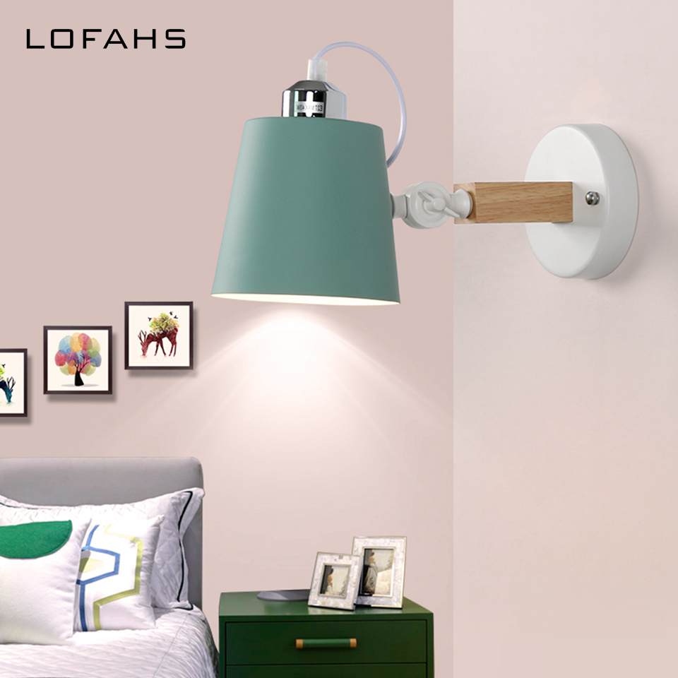 Modern 6 colours wall lamps creative Wall light source bedroom bedside balcony aisle porch hotel cafe gallery Wall source DLM93Modern 6 colours wall lamps creative Wall light source bedroom bedside balcony aisle porch hotel cafe gallery Wall source DLM93