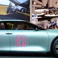 Buy Initial Car Stickers And Get Free Shipping On AliExpresscom - Monogram decal on car