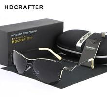 HDCRAFTER Hot Selling Sun Glasses for Women Vintage Polarized Driving Sunglasses for Female Brand Designer Ladies Eyeglasses