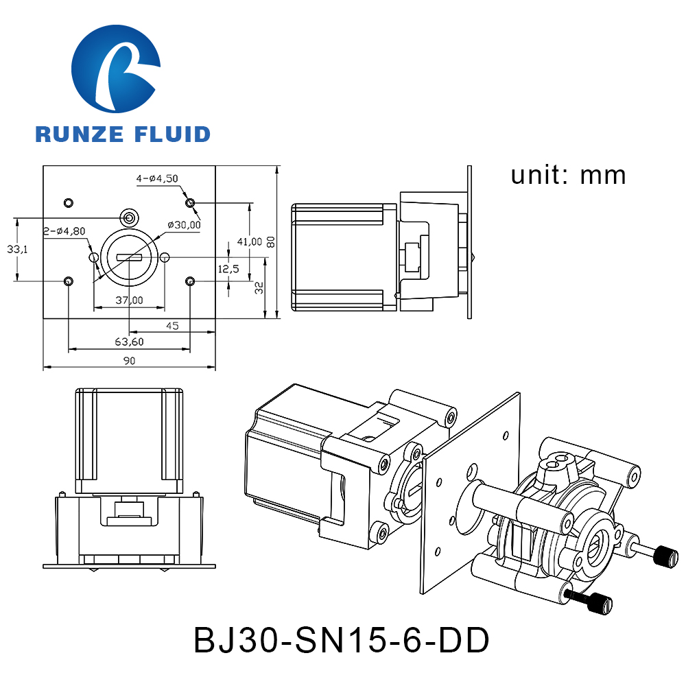 hight resolution of constant flow industrial peristaltic pump easy installation low price in pumps from home improvement on aliexpress com alibaba group