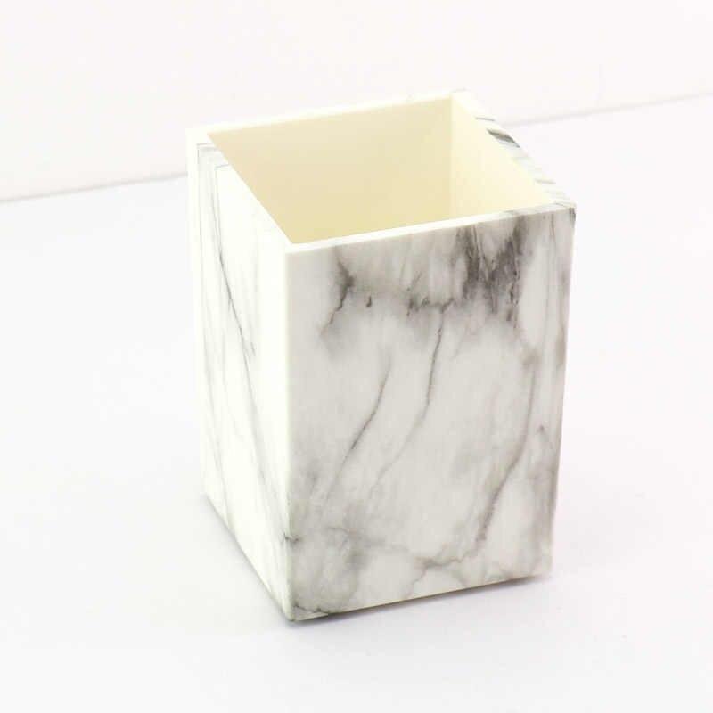 TUTU beyaz mermer zımba yapışkan bant tutucu kalemlik altın kitap ciltleme malzemeleri kaymaz mat H0260
