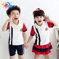 Школьная одежда комплект для мальчиков девочек теннис для детей спортивный костюм летние мундиры детей в возрасте размер 6 7 8 9 10 11 12 15 16 лет спортивный костюм для мальчика 9 лет школа