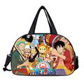 Anime ONE PIECE Waterproof Women Travel Bags OP Men Travel Bag Weekend Portable Bag Large-Capacity Male Shoulder Bag