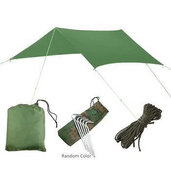 Outdoor Sonnendach Markise Camping Wasserdichte Ultraleicht Plane Anti-Uv Sonnenschirm Baum Zelt für Fisch