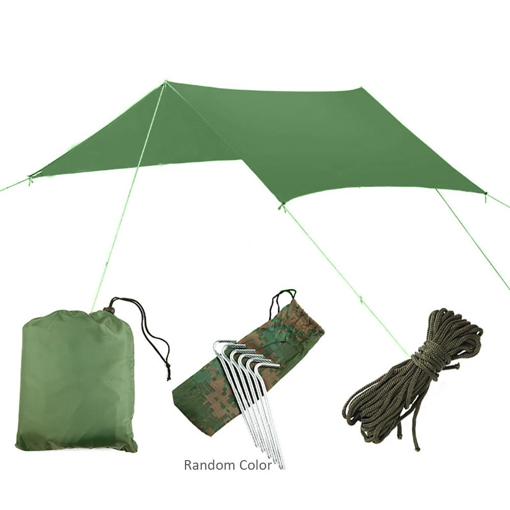 Outdoor Sun Shelter Awning Camping Waterproof Ultralight Tarp Anti-UV Sunshade Shade Tree Tent for Fish