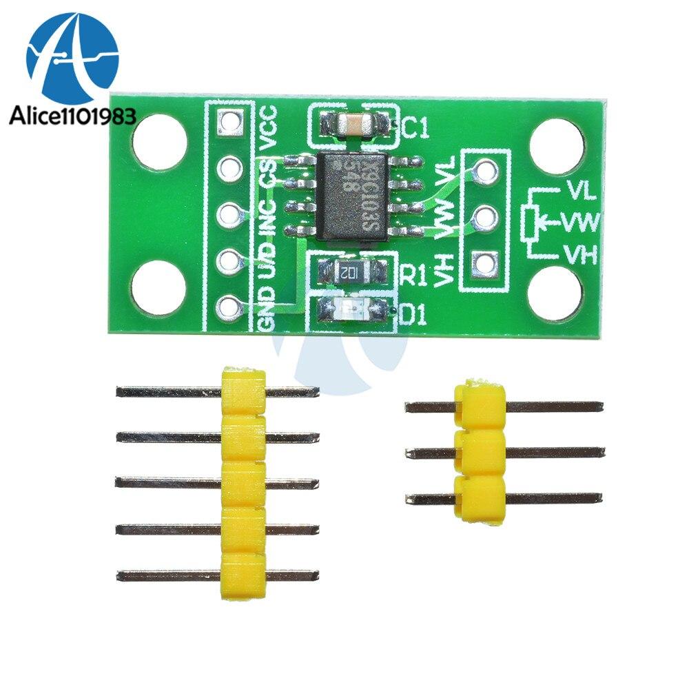 HOT PRICE) X9C104 Digital Potentiometer Module For Arduino