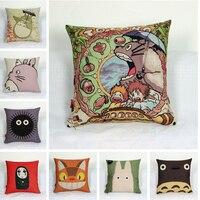 Miyazaki Dragon and cat series of high-quality cartoons cushions pillowcases Japanese tatami office cushion pillow cover