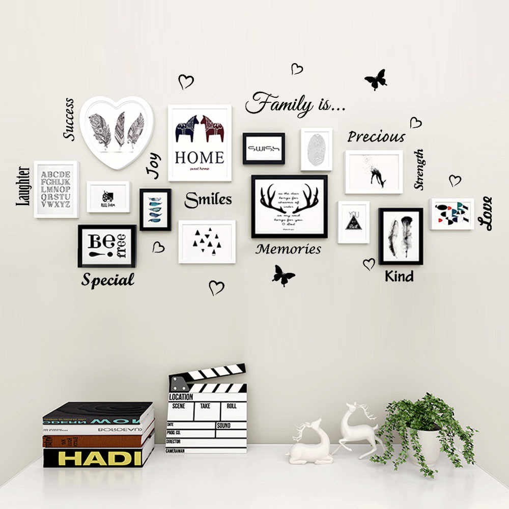 2019 Family is Special Removable Art Vinyl Mural Home Room Decor Wall Stickers For Kids Rooms Bedroom Decor Room Decoration