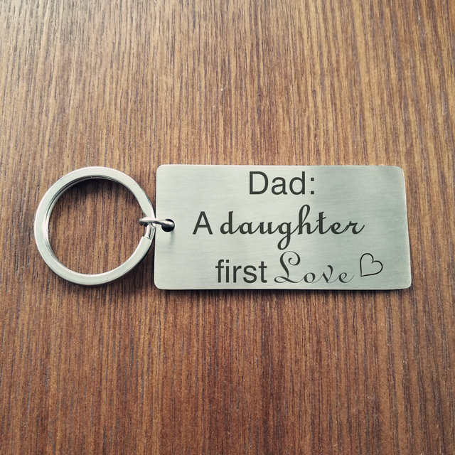 Parent Wedding Keychain Dad Wedding Gift Father\'s Day Keychain Dad ...
