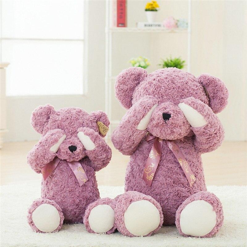 48 cm Super Lucu Hug Beruang Pemalu Boneka Beruang Mainan Mewah Boneka  Boneka dengan Magnet Anak Bayi Anak Teman Hadiah di Stuffed   Plush Hewan  dari Mainan ... 238afece9d