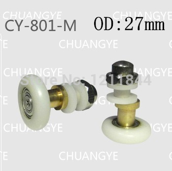 OD:27mm 8pcs Bathroom orbital eccentric bearing, old shower pulley