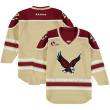 3b62b0649 Boston Eagles Gold Replica Performance College Hockey Jersey Mens  Embroidery Stitched Customize any number and name