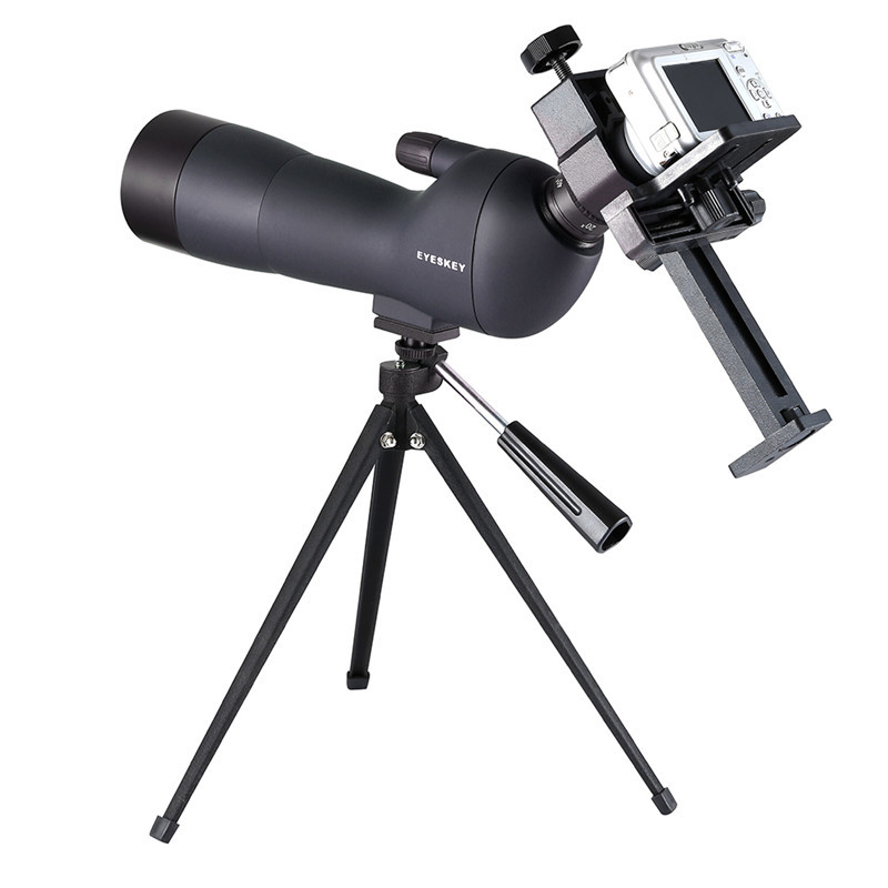 20-60x60 HD Night Vision Monocular Telescope Outdoor Camping High Power Telescope Compact Spotting Scope with Tripod Mount bijia professional optic night vision telescope 8 24x50 zoom binoculars hd waterproof for outdoor camping with tripod interface