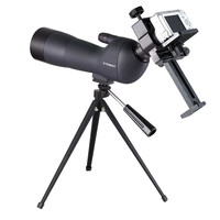 60x60 HD Monocular Telescope Outdoor Camping High Power Telescope Compact Spotting Scope Bird Watch With Tripod