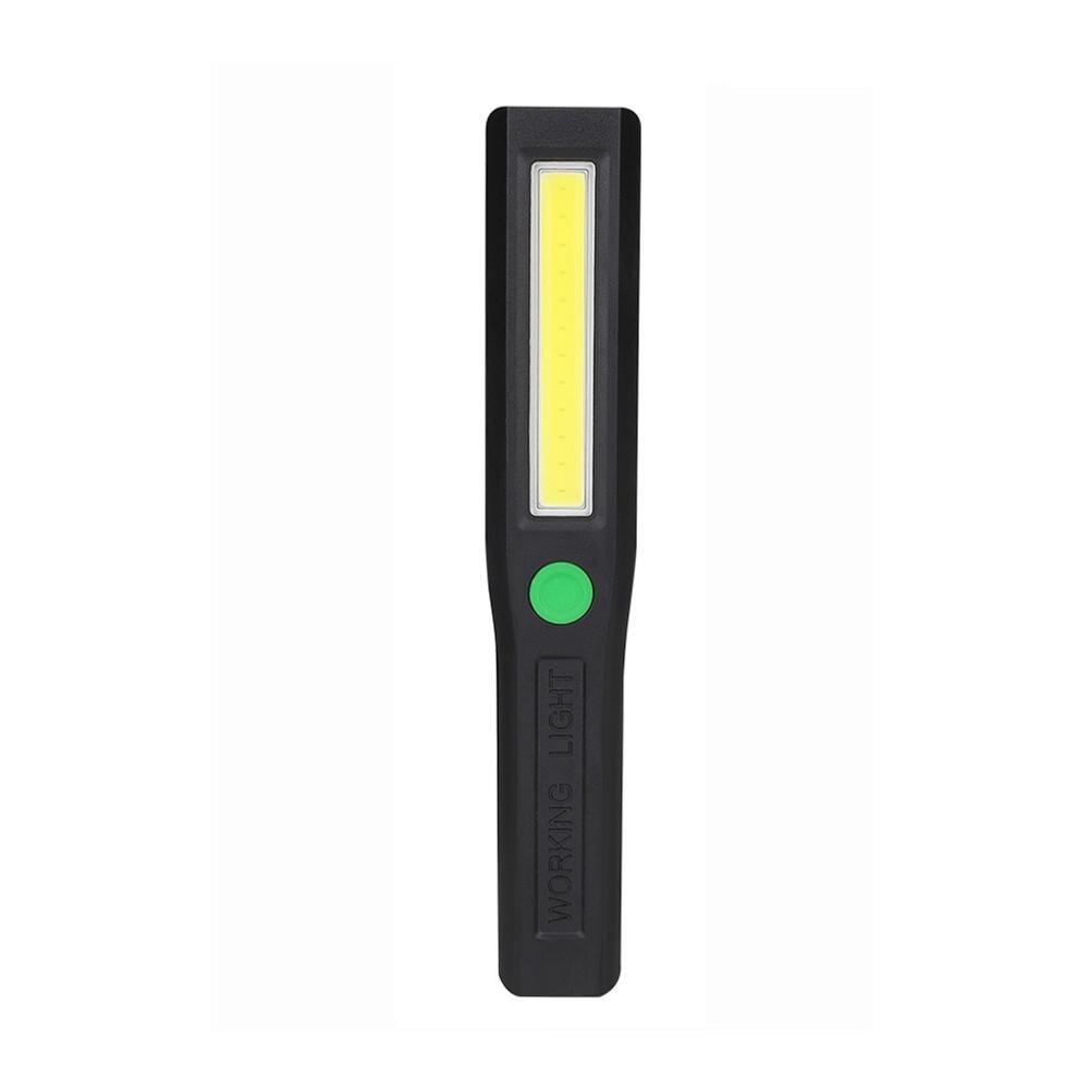 8 LED Pocket Pen Torch Worklight Magnetic Inspection Lamp Flashlight Light
