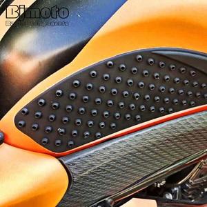 Image 5 - BJMOTO yeni Anti kayma Sticker motosiklet tankı çekme pedi yan diz kavrama koruyucu için Suzuki GSXR1000 GSXR 1000 K7 2007 2008