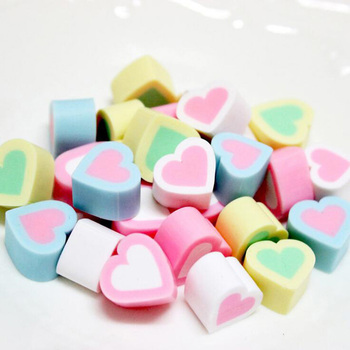 цена на 50Pcs/lot DIY Mini Simulation Love Flower Marshmallow Accessories Kids Toys