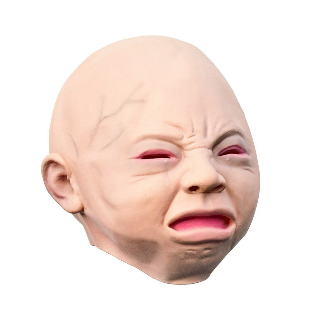 Image result for creepy baby mask