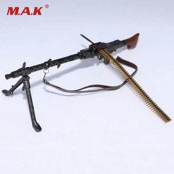 Escala 1 6 máquina de luz armas Modelo de la Segunda Guerra Mundial alemán  Maschinengewehr 34 pistola modelo juguetes para 12