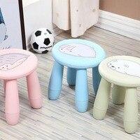 Kreatywny uroczy bajka stolce dzieci stołek przenośne stołek plastikowy krzesło ławka odpinany stołek dla domu na zewnątrz podróży w Stołki i otomany od Meble na